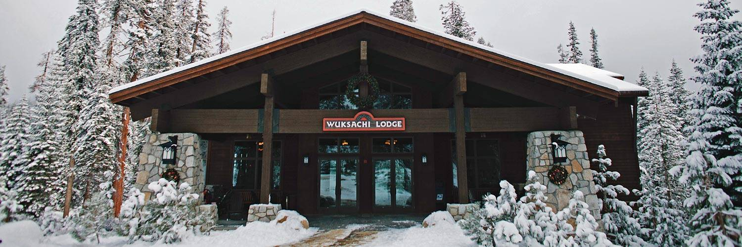 Wuksachi Lodge in winter