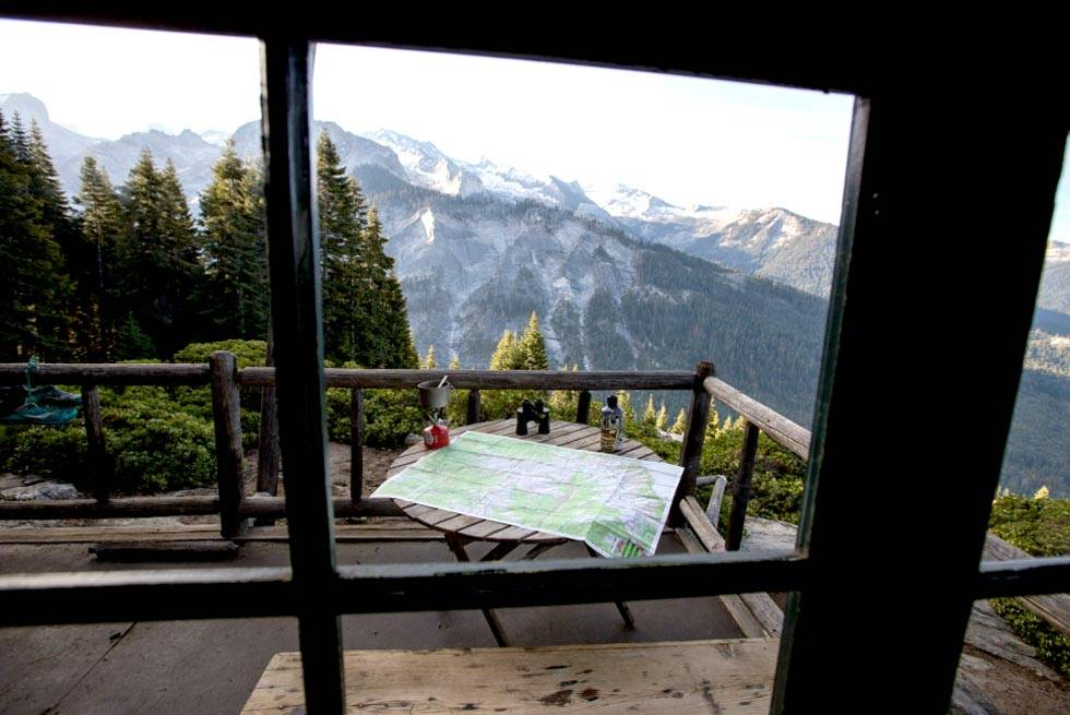 Balcony and Mountain view