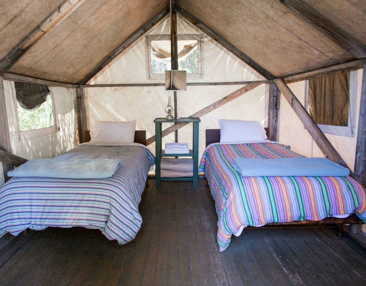 Bearpaw Tent Cabin Interior. Reservations for Bearpaw High Sierra ... & Bearpaw High Sierra Camp | Sequoia u0026 Kings Canyon Natu0027l Park