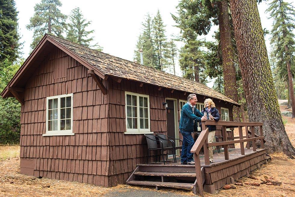 Grant Grove Cabins Couple