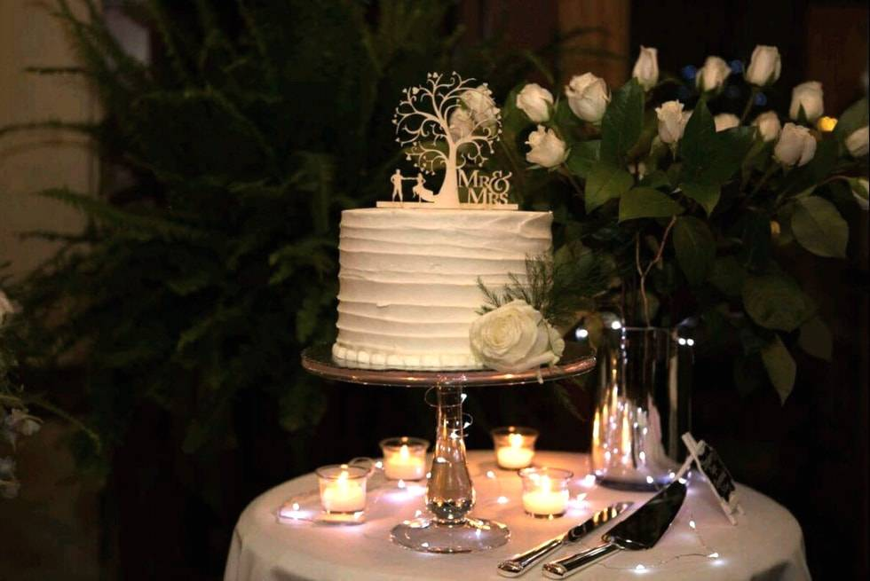 Wedding cake at Sequoia & Kings Canyon National Parks